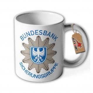 Bundesbank Sicherungsgruppe polizei grenzschutz Bank Bgs Gruppe Tasse #20224