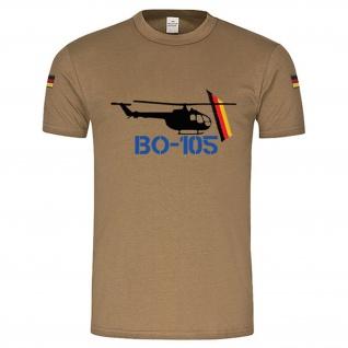 BW Tropen Bölkow BO 105 Helicopter Heli original Tropenshirt Tropenhemd #14895