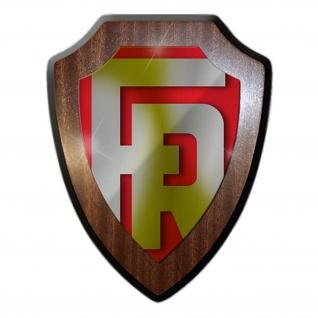 Rometsch KFZ Logo Abzeichen Wappen Emblem Wandschild Wappenschild#23937