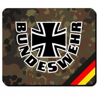 Bundeswehr Deutschland eisernes Kreuz BW Bund Dienst Emblem - Mauspad #8034
