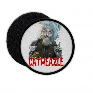 Patch Catweazle Hexenmeister 70er Kult Film Aufnäher für Kutte#36291