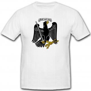 Gott mit uns - Adler Schwert Blitze Deutschland - T Shirt #8887