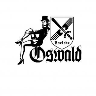 Aufkleber Lilli Marleen Oswald Boelcke Jagdgeschwader 31 Luftwaffe 20x14cm A4062