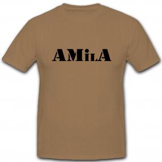 AMilA Bundeswehr BW Sport Dienstsport Militär Kaserne - T Shirt #4767