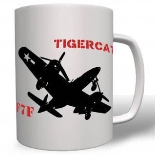 F7f Tigercat Angriffs Flugzeug Jagdflugzeug Grumman Luftwaffe Tasse # 16576