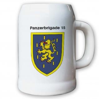 Krug / Bierkrug 0, 5l -13.Bierkrug Panzerbrigade8 PzBrig8 Brigade Einheit #12977