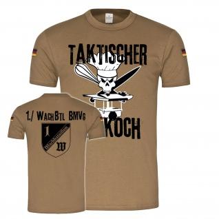 Taktischer Feldkoch 1 WachBtl Feldküche BMVg Versorger Tropenshirt #23885