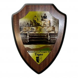 Wappenschild Lukas Wirp Tiger Paner Carius sPzAbt Abteilung Tafel Gemälde #23480