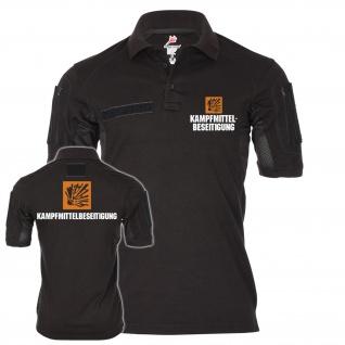 Tactical Poloshirt Kampfmittelbeseitigung Feuerwerker Räumdienst Einheit #20066