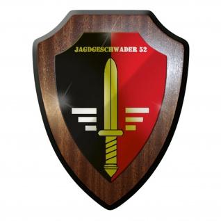 Wappenschild / Wandschild / Wappen - Jagdgeschwader 52 JG Luftwaffe Bw #8324