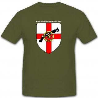 Feldartilleriebataillon 545 Bundeswehr Deutschland Militär - T Shirt #7987