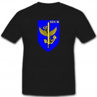 SEK M Spezialisierte Einsatzkräfte Marine Bundeswehr Militär T Shirt #2655