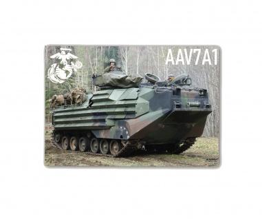 Poster M&N Pictures USMC AAV-7A1 Assault Amphibious Vehicle ab30x21cm#30284