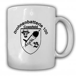 Drohnenbatterie 100 Coesfeld Wappen Abzeichen Emblem Einheit BW Tasse #15473