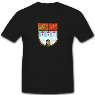 PzBtl 334 Panzer Bataillon Panzertruppe Bundeswehr Wappen - T Shirt #4878