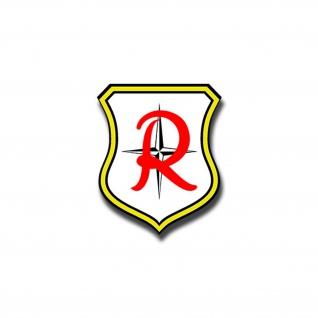 Aufkleber/Sticker JG71 Richthofen Jagdgeschwader Luftwaffe TaktLwGrp 6x7cm A859