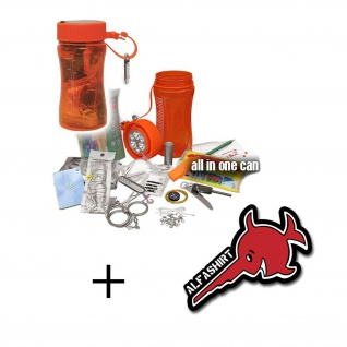 Outdoor Survival Set Bear Überlebensset Kit Notfall Box wasserdichter #15785