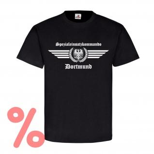 Gr. XL - SALE Shirt SEK Dortmund Logo Spezialeinsatzkommando Polizei #R1089