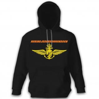 Marinejegerkommandoen Marine Jäger Kommando Marine - Pullover Hoodie #12056