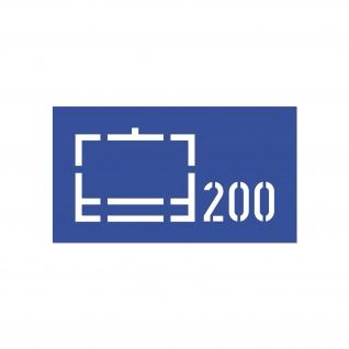 Lackierschablonen Aufkleber Nachschubkompanie 200 NschKp BW 14x30cm #A4649