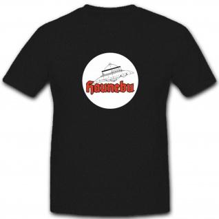 Haunebu Logo Militär Ufo Prototyp Flugscheibe - T Shirt #4518