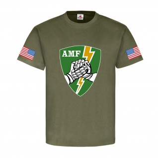 AMF USA Allied Command Europe Mobile Force US United States Army - T Shirt #9157