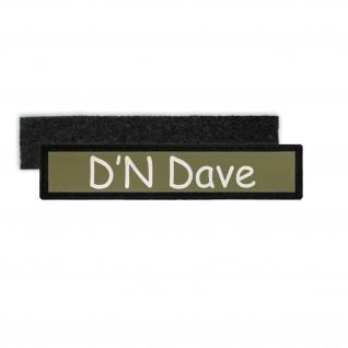 Patch D N Dave Kids Aufnäher Comedy Fun Humor Lastkraftwagenfahrer # 26361