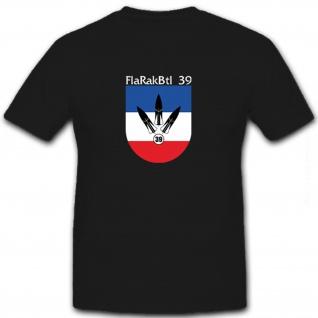 FlaRakBtl 39 Flugabwehr Bataillon Einheit Bundeswehr Deutschland T Shirt #8553
