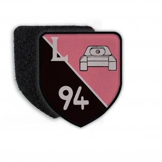 Patch Klett Flausch PzLehrBtl 94 Panzerlehrbataillon Munster Wappen #22398