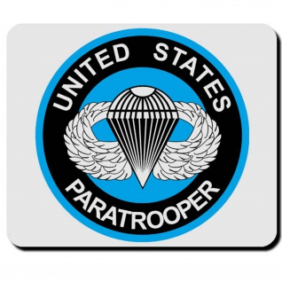 US Paratrooper United States Airborne Amerika America USA - Mauspad PC #16648