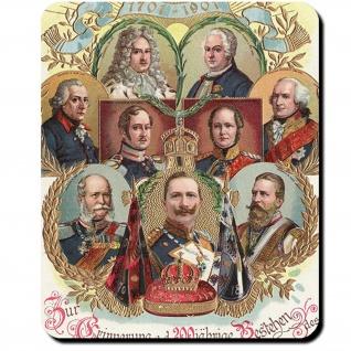 200 Jahre Preußen Königreich Kaiser Jahrestag Feier Erinnerung Mauspad #16387