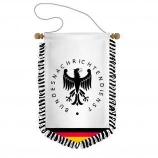 Wimpel Bundesnachrichtendienst BND Berlin Nachrichtendienst Ausland #34201