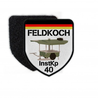 Patch Feldkoch InstKp 40 Instandsetzungs-Kompanie Bundeswehr Feldküche #24124