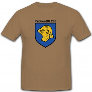 PzGrenBtl 283 Panzer Grenadier Grenadiere Bataillon Bundeswehr - T Shirt #10107