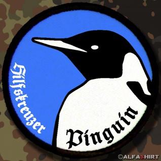 Patch / Aufnäher - Hilfskreutzer Pinguin Schiff 33 Neuschwabenland #7150