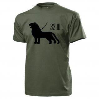 32 ID Infanterie Division Löwe Wappen InfDiv Abzeichen - T Shirt #13121