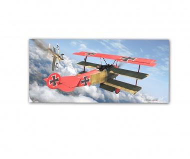 Poster rOEN911 Fokker Dr I 152 Red Baron Manfred von Richthofen ab30x14cm#30712