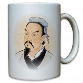 Sunzi Sun Tzu chinesischer General - Die Kunst des Krieges - Tasse #12714