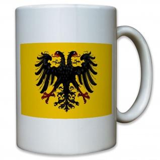 Heiliges Römisches Reich Deutschland Fahne Flagge Adler - Tasse #11382