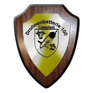 Drohnenbatterie 100 Coesfeld Drohne Militär Abzeichen Wappenschild #19851