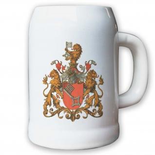 Krug / Bierkrug 0, 5l - Freie und Hansestadt Bremen historisch historisches #9430