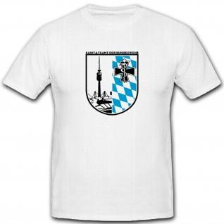 Sanitätsamt Bundeswehr Wappen Militär Einheit Sanitäter Sani RA T Shirt #2299