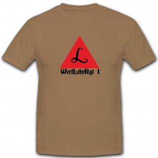 WerfLehrRgt 1 Werfer Lehr Regiment Militär WK 2 Wappen Emblem - T Shirt #5306