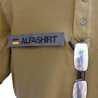 Tactical Poloshirt Alfa - Oberstabsfeldwebel Dienstgrad Schulterklappe #19102