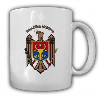 Republik Moldawien Wappen Emblem Kaffee Becher Tasse #13804