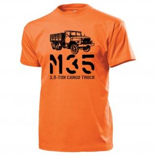 M35 Cargo Truck US Army LKW 2, 5 ton Amerika Military Oldtimer T Shirt #15295