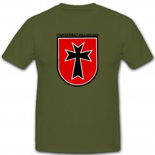 Dornstadt Bundeswehr Logo Bund Panzer Bataillon Truppe Pzbtl 282 - T Shirt #1399