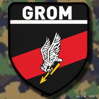 Patch / Aufnäher - GROM Polnische Spezialeinheit Reaktionsgruppe Für Operative Manöver Donnerschlag Polen Militärisches Wappen #6015
