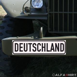 Magnetschild Germany Deutschland German für KFZ Fahrzeuge #A178