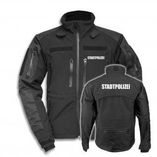 Tactical Softshell Jacke Stadtpolizei Einsatzkleidung Dienstkleidung #34968